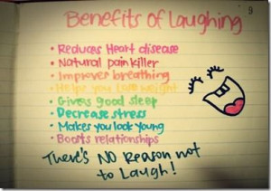 Update & laughing benefits.