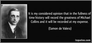 More Eamon de Valera Quotes