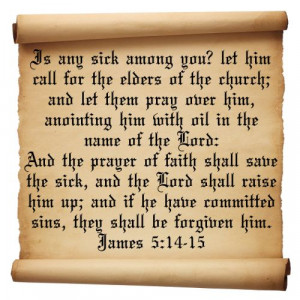Anointing Oil Prayer | encouraging quotes from the bible on praying ...