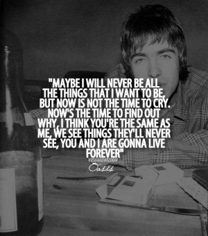 oasis quotes on Tumblr