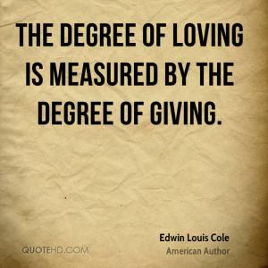 Edwin Louis Cole Love Quotes