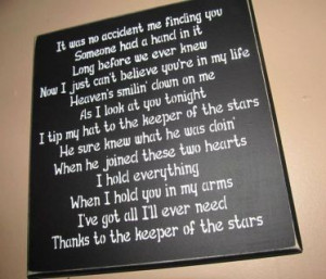 ... to the Keeper of the Stars Quote Wall Decor - Rustic Home Decor $44.99
