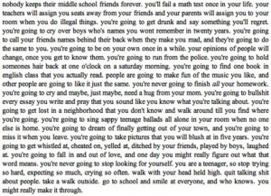 quotes about teenage years