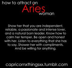 Aries Woman More