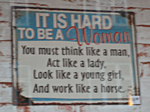 Act Like A Lady Think Like A Man Quotes You must think like a man, act