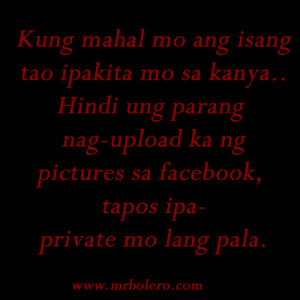 Patama lines and Tagalog Quotes Pinoy Sayings