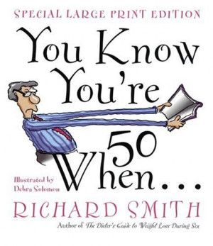You Know You're Fifty When - Book -