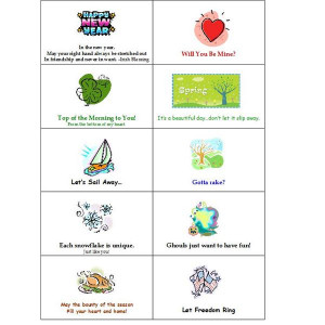 the seasonal set showcases quotes and sayings about the four seasons ...
