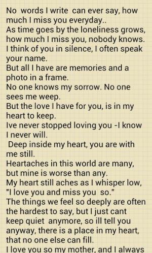 RIP* MoM