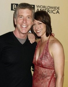 Tom-Bergeron and wife Lois
