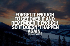 Forget It Enough - quotes Photo