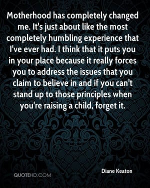 Diane Keaton Experience Quotes