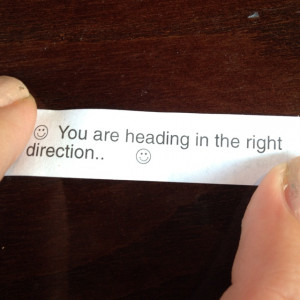 Best fortune cookie fortune ever