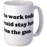 Funny Work Quotes Coffee Mugs   Funny Work Quotes Travel Mugs ...