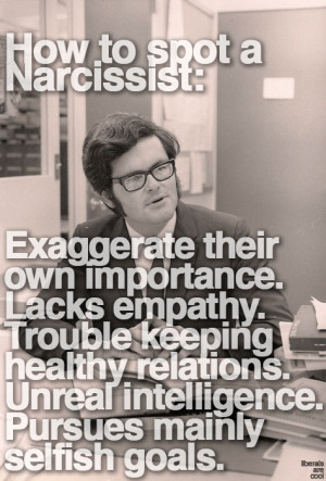 . Narcissistic personality disorder is closely linked to egocentrism ...