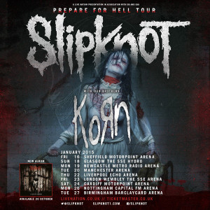 out your spiked leather wristbands, nu-metallers Splitknot and Korn ...