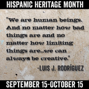 Excerpt of the Week: From My Nature is Hunger by Luis J. Rodríguez