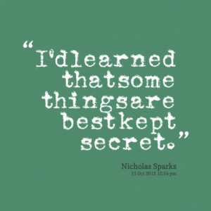 Quotes About: secrets