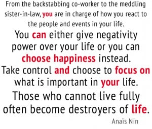 anais nin quote - from the backstabbing co-worker to the meddling ...