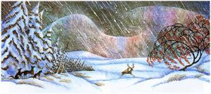 finally gerda reaches the snow queen s palace where she