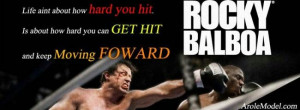 Wise worda of Rocky Balboa