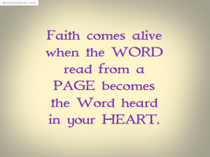 Faith Quotes The Best