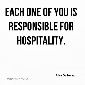 Funny Quotes About Hospitality