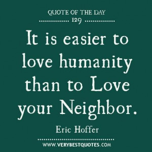 Love your neighbor quotes