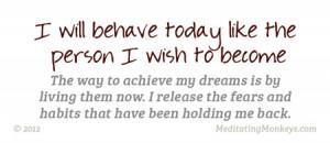 achieve your dreams power card