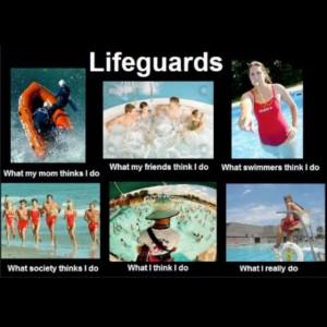 Haha lifeguards