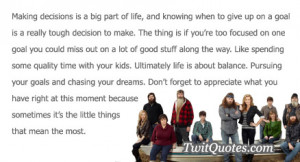 Making decisions is a big part of life, and knowing when to give up on ...