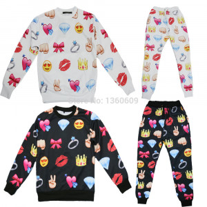 Emoji Men Joggers Outfit