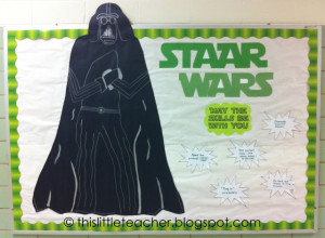 Rock The Test Bulletin Board Staar wars bulletin board