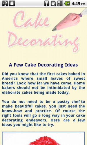 Cake Decorating Quotes. QuotesGram