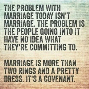 Why I'm Not Getting Married…Yet!