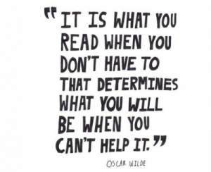 Oscar wilde writing advice quotes
