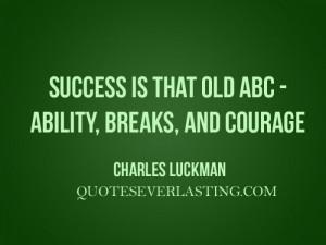 famous inspirational quotes regarding success