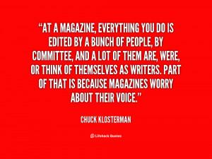 Chuck Klosterman