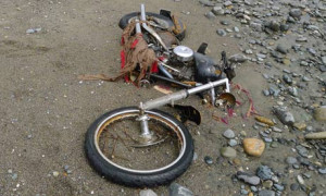 Harley-Davidson motorcycle lost in last year's tsunami in Japan lies ...