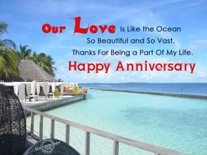so vast thanks for being a part of my life happy anniversary anonymous