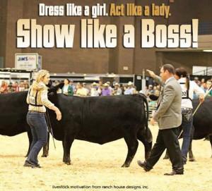 Show like a boss! #Fluffy Cows #RHD #AngusJuniorNationals # ...