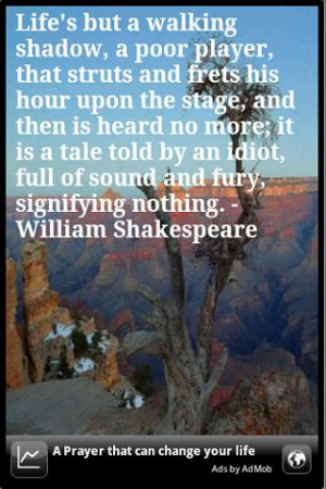 ... quote from william shakespeare some quotes are very deep and