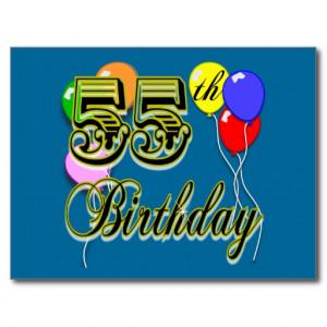 happy 55th birthday birthday design for a special 55th birthday great ...