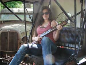 redneck girls with guns