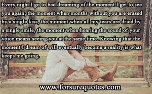 Quotes about when hearing the sound of your voice