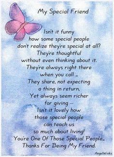 Cute Friendship Poems