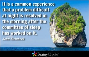 Thinking Of You On This Difficult Day Quotes John steinbeck quote