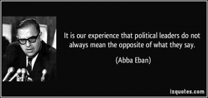 More Abba Eban Quotes