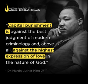 Honoring Dr. King by Ending Capital Punishment