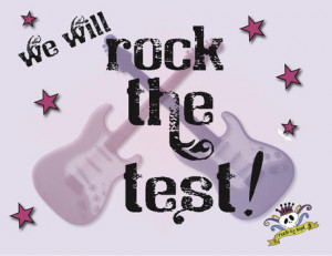 Rock The Test Bulletin Board Rock the test!